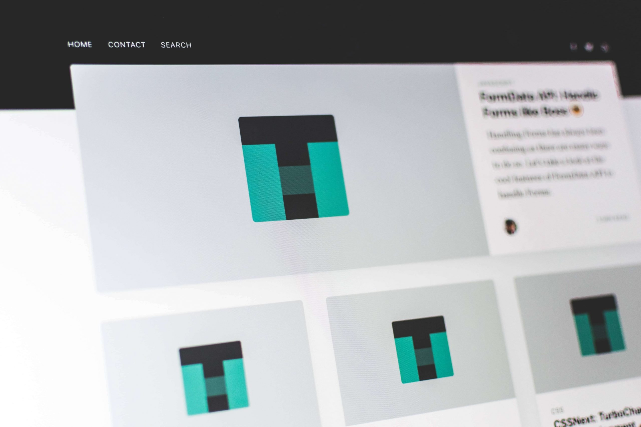 Website Template Page