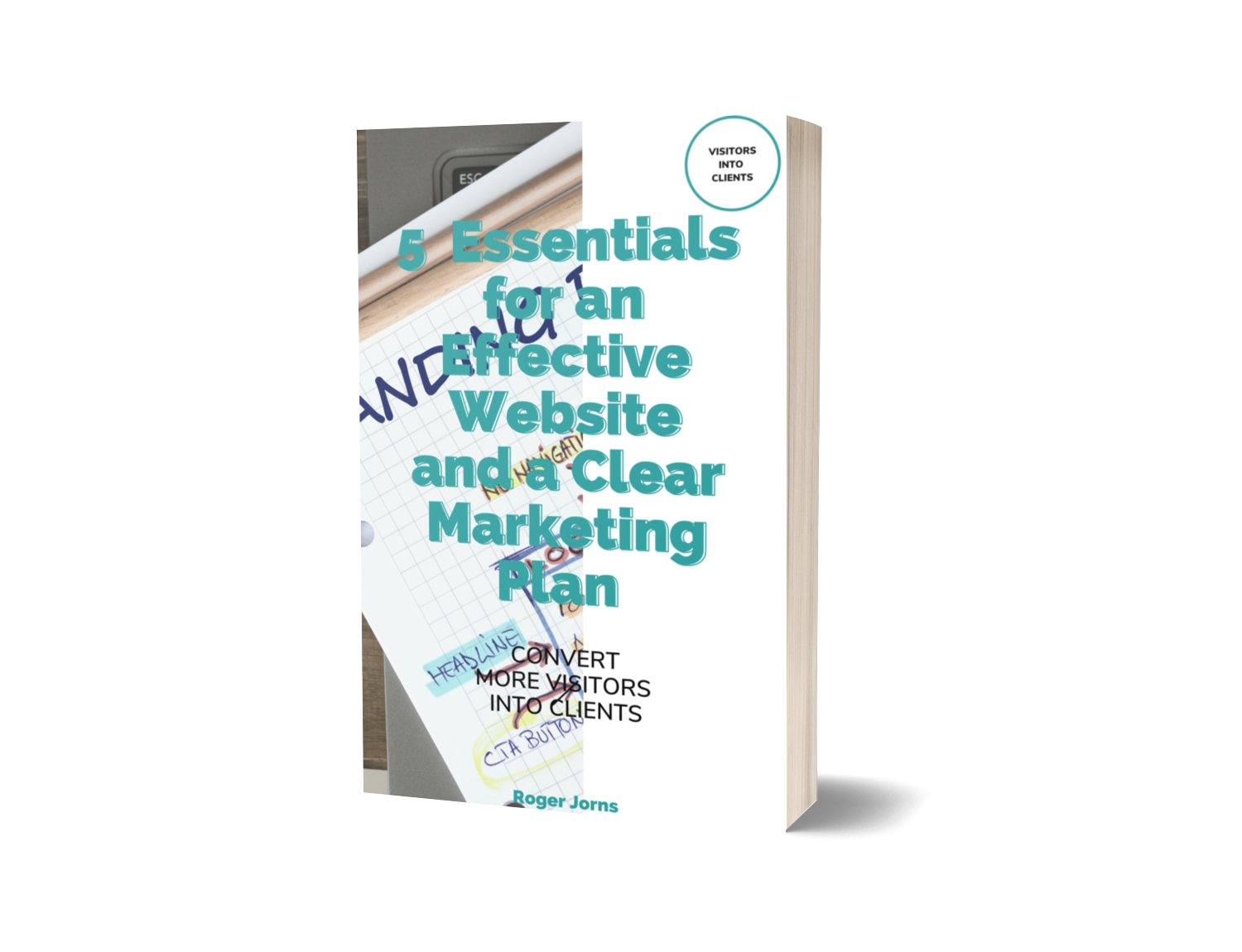 Cover of 5 Essentials for an Effective website and Clear Marketing Plan